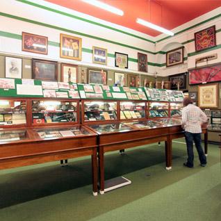 Inside Regiment of Wales Museum